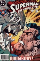 DC Comics's Superman: The Man of Steel Issue # 19