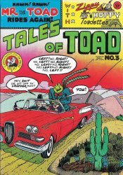 Cartoonists Co-op Press's Tales of Toad Issue # 3