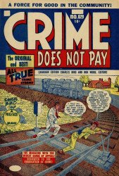Lev Gleason Publications's Crime Does Not Pay Issue # 69b