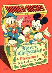 Disney Comics's Donald and Mickey: Merry Christmas Issue # 1949