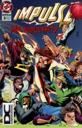 DC Comics's Impulse Issue # 3b