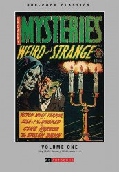 PS Artbooks's Pre-Code Classics: Mysteries: Weird and Strange Hard Cover # 1