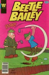 Gold Key's Beetle Bailey Issue # 128whitman
