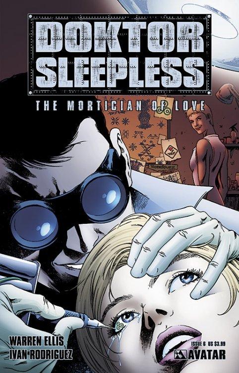 Avatar Presss Doktor Sleepless Issue 6