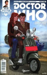 Titan Comics's Doctor Who: 10th Doctor - Year Three Issue # 4c