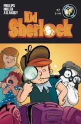 Action Lab Entertainment's Kid Sherlock Issue # 2