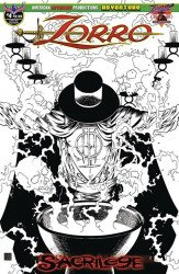 American Mythology's Zorro: Sacrilege Issue # 4c