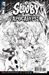 DC Comics's Scooby: Apocalypse Issue # 1b