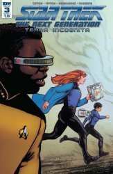 IDW Publishing's Star Trek: The Next Generation - Terra Incognita Issue # 3