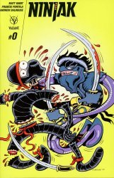 Valiant Entertainment's Ninjak Issue # 0e