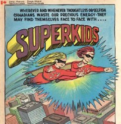 Canada Dept. of Energy, Mines & Resource's Superkids Issue nn
