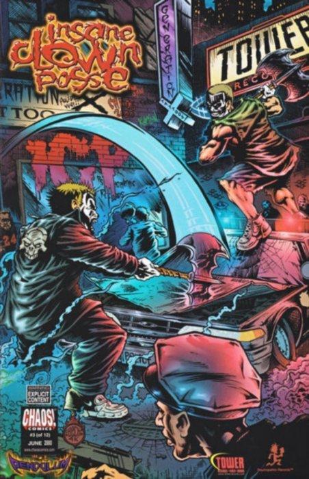 insane clown posse pendulum issue 1 chaos comics