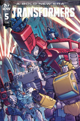 IDW Publishing's Transformers Issue # 5