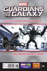 Marvel's Marvel Universe: Guardians of the Galaxy Issue # 8