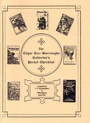J.G. Huckenpohler's Edgar Rice Burroughs Collector's Pocket Checklist Issue # 5