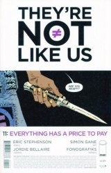 Image's They're Not Like Us Issue # 11