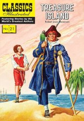 Classics Illustrated Comics's Classics Illustrated #21: Treasure Island TPB # 1