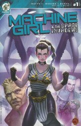 Stonebot Comics's Machine Girl & the Space Invaders Issue # 1