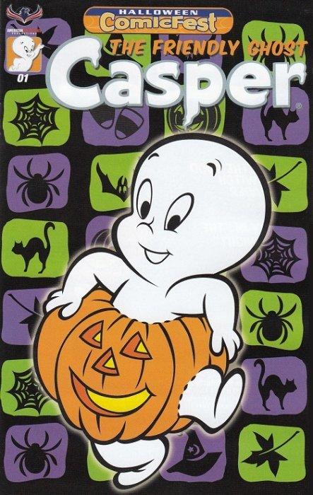 Casper, The Friendly Ghost - Halloween Comicfest Mini-Comic nn ...