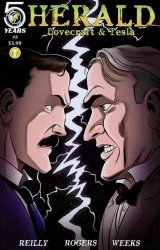 Action Lab Entertainment's Herald Lovecraft & Tesla Issue # 8