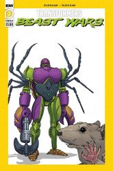 IDW Publishing's Transformers: Beast Wars Issue # 3b