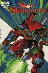 IDW Publishing's Star Slammers: Remastered Issue # 8