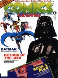 Starlog Group's Comics Scene Issue # 10