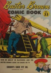 Buster Brown Shoes's Buster Brown Comics Issue # 33browns