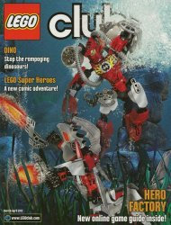 LEGO Systems's LEGO Club Magazine Issue mar/apr 2012