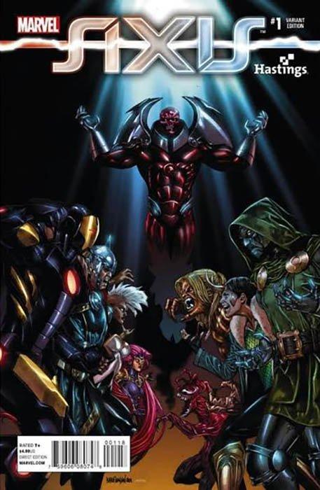 Hastings J Variant 2014 NM Marvel Comics Avengers X-Men Axis #1
