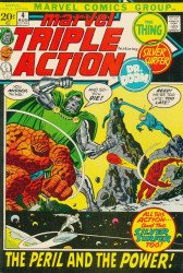 Marvel Comics's Marvel Triple Action Issue # 4