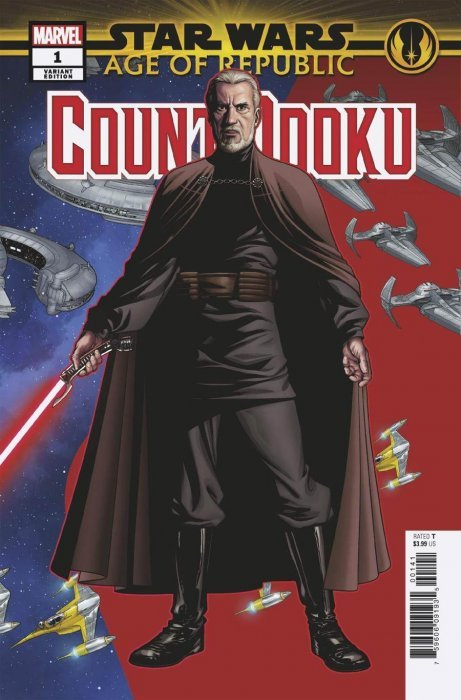 Star Wars Age Of Republic Count Dooku # 1 Concept Variant NM