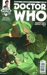 Titan Comics's Doctor Who: 10th Doctor - Year Three Issue # 4d