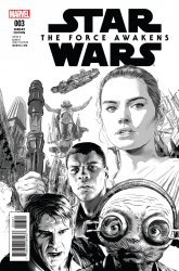 Marvel's Star Wars: Episode VII: The Force Awakens Adaptation Issue # 3b