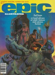 Epic Comics's Epic Illustrated Issue # 2