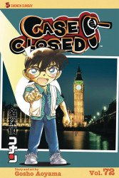 Viz Media's Case Closed Soft Cover # 72