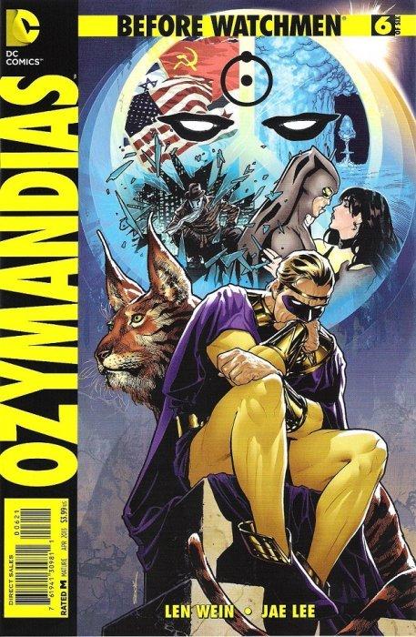 before watchmen ozymandias 6b dc comics comicbookrealm com