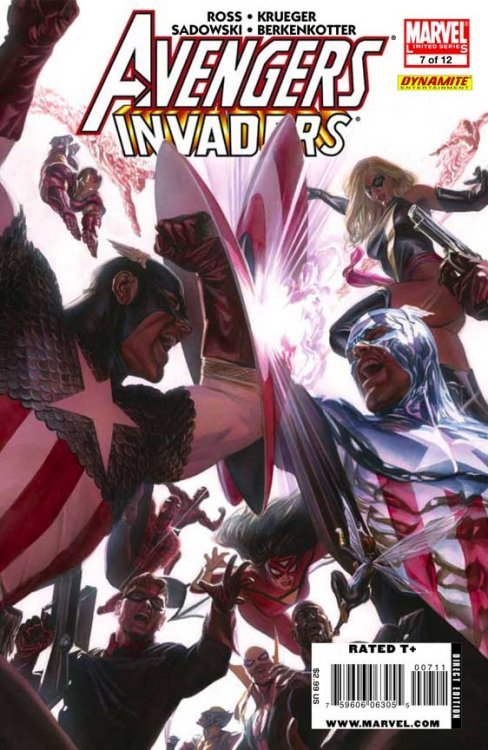 Marvel Comicss Avengers Invaders Issue 7