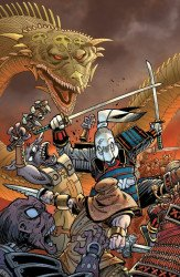 IDW Publishing's Usagi Yojimbo Issue # 1sdcc