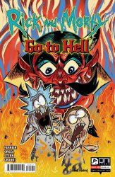 Oni Press's Rick and Morty: Go to Hell Issue # 5b