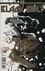 Marvel Comics's Black Bolt Issue # 8d