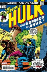Marvel Comics's Incredible Hulk Issue # 182facsimile