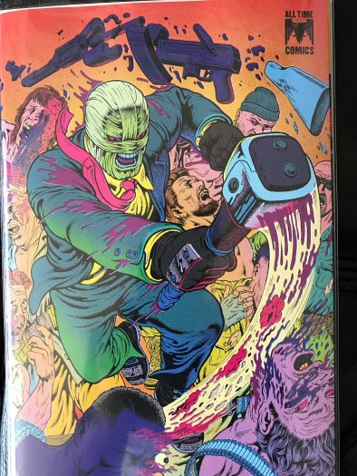 MIDNIGHT SKY 1 FCBD 2019 Scout Comics Preview GUTT GHOST NM unstamped