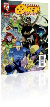 Marvel Comics: Uncanny X-Men: First Class - Issue # 4 Cover