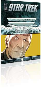 IDW Publishing: Star Trek: Spock - Reflections - Issue # 4 Cover