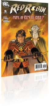 DC Comics: Red Robin - Issue # 5 Cover