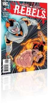 DC Comics: R.E.B.E.L.S. - Issue # 9 Cover