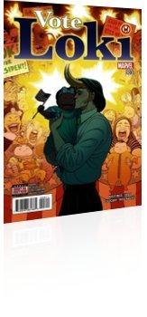 2016 Marvel Comics of 4 VOTE LOKI #3 NM Comic Book