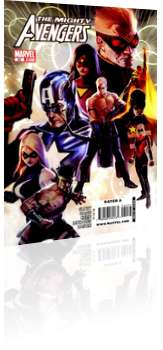 Marvel Comics: Mighty Avengers - Issue # 30 Cover