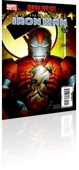 Marvel Comics: Invincible Iron Man - Issue # 19 Cover